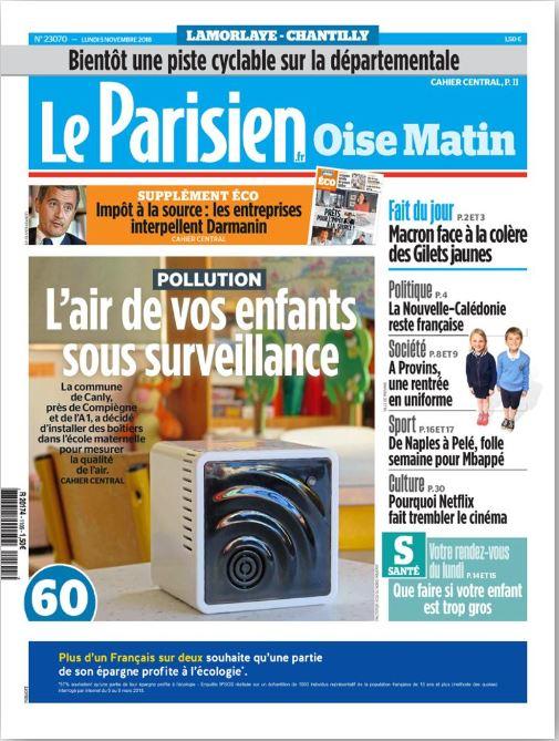 le-parisien-oise-matin-couverture-05-11-2018